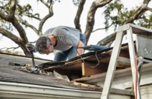 inspecting residential roofing for storm damage